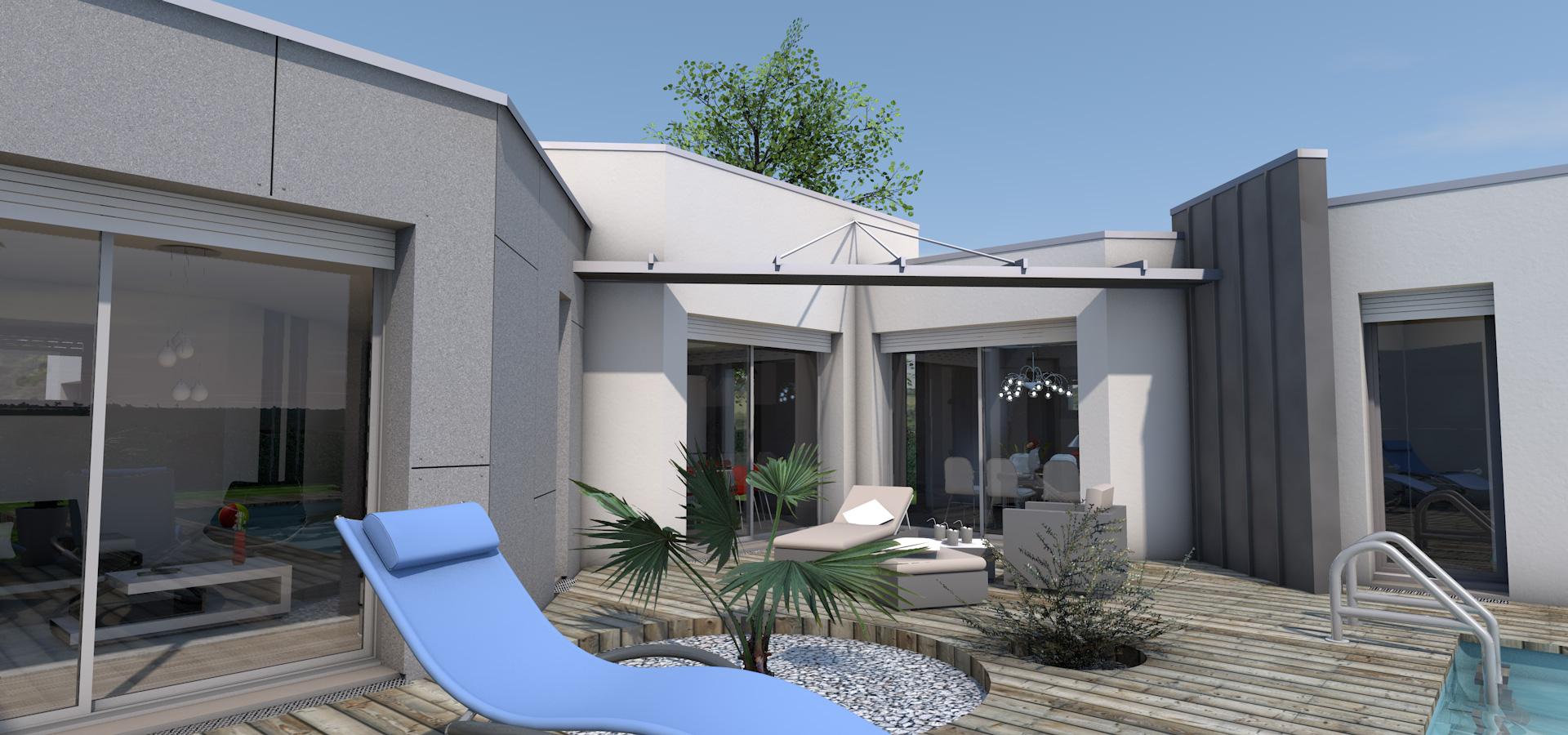 Résidence luxe moderne habitat dexception